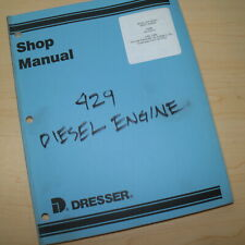 DRESSER 429 DIESEL ENGINE Service Repair Manual shop overhaul book tractor 1966
