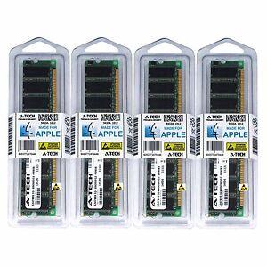 4GB Kit 4X 1GB DIMM PC2700 Power Mac G5 Mid 2003 A1047 M9020LL/A Memory Ram