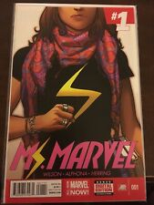 Ms Marvel #1 1st Print 2014 Kamala Kahn VF/NM