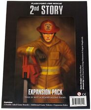 FLASH POINT FIRE RESCUE: 2nd STORY (3RD PRINT ED) Game EXPANSION KICKSTARTER NEW