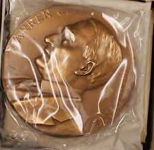 US Mint Warren G Harding Presidential High Relief Bronze Inaugural Medal