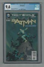 Batman #8 CGC 9.6 NM+ DC Comics New 52 Greg Capullo Cover 6/12 Night of the Owls