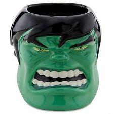 NEW DISNEY Store Incredible Hulk Sculpted Ceramic Mug Cup Marvel RARE HTF NIB