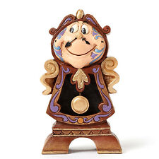 Disney Jim Shore Beauty and the Beast COGSWORTH 25th Anniversary Figurine