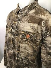 GAME WINNER - Embroidered REALTREE MAX-1 XT Camouflage Mens 3XL Hunting Shirt