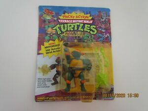 PLAYMATES WACKY ACTION ROCK N ROLL MICHAELANGELO TEENAGE MUTANT NINJA TURTLES