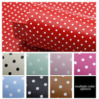 One Side Solid Color and Back With Dots Synthetic Leather Upholstery Material