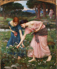 John William Waterhouse Fine Art Giclee Print on Canvas Wall Decor Small 8x10
