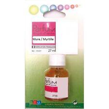 Flacon 27ml parfum liquide pour bougie et savon - Mûre - Myrtille