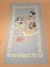 Drap De Bain Serviette Disney Babies Mickey Minnie Babies 100% Cotton