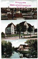 AK Herford - Lehrerseminar/Herthabrücke - Industrie- und Gewerbeausstellung 1910