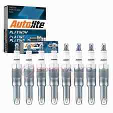 8 pc Autolite Platinum Spark Plugs for 2005-2008 Ford Mustang 4.6L V8 bs