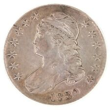 1830 Capped Bust 50C PCGS Certified XF45 Small 0 Early Silver Half Dollar