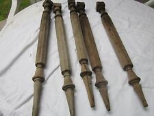 Antique wood spindles/total 5/great design.