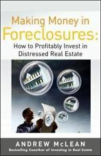 MAKING MONEY IN FORECLOSURES - NEW PAPERBACK BOOK