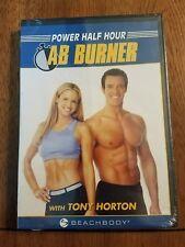 Power Half Hour Ab Burner with Tony Horton DVD NEW!!