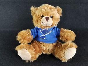 """NHL St Louis Blues hockey Hoodie Teddy Bear 10"""" plush toy Soft Lovey Stuffed"""