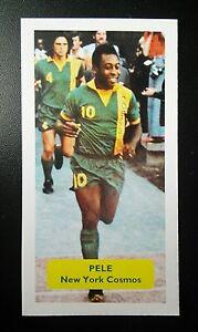 BRAZIL -  NEW YORK COSMOS - PELE - Score UK football trade card NASL - #8 of 9