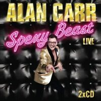 ALAN CARR Spexy Beast Live (2011) 2xCD audio book NEW/UNPLAYED comedy