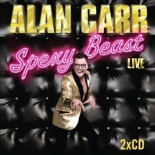 Alan Carr Spexy Beast Live (2011) 2xCD Livre Audio Neuf / Unplayed Comédie