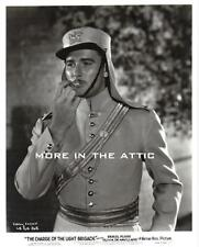 ERROL FLYNN CHARGE OF THE LIGHT BRIGADE WARNER BROTHERS FILM STILL #3