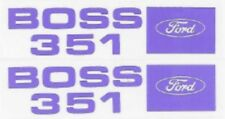 Ford 1971 BOSS 351 Valve Cover Decal Set