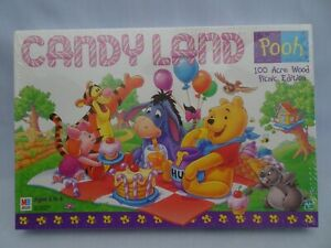 Vintage 1998 Candy Land Winnie The Pooh 100 Acre Woods Picnic New Sealed