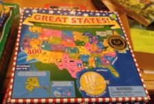 Great States!  Game tests knowledge of Landmarks, Locations and State Capitals