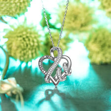 Urn Necklaces For Ashes I Love You To The Moon & Back Mom Cremation Locket Birth