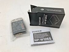 Fuji NP126S long life rechargeable batteries for X-Pro ,XT ,X-H series camera's