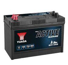 Yuasa YBX M31-100S Active Marine Batterie Schiff - Boot - Yacht 12V 100AH