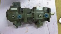 NEW MANNESMANN REXROTH 509 274 / 7 DUAL HYDRAULIC PUMP