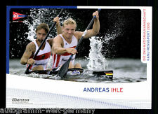 Andreas Ihle  TOP AK Original Signiert Kanu +A47465