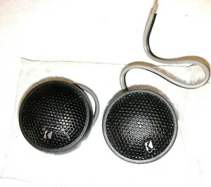 """KICKER Resolution R22 1"""" Tweeters .NEW pairs Dealer Packed Fast Ship! AWESOMNESS"""
