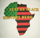 Black History Hero Tee Youth L African American Heritage T new atbh1