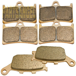 Front & Rear Sintered Brake Pads For Yamaha R6 YZFR6 YZF-R6 YZF-R6S 2003-2018