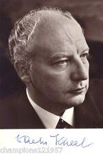 Walter Scheel ++Autogramm++ ++4.Bundespräsident BRD++
