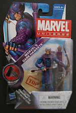 Marvel  Universe DARK HAWKEYE action figure (VHTF!)