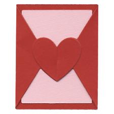 Lifestyle Crafts QuicKutz Cutter Die Set  MINI VALENTINE  Fold Up Card -DC0044