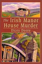 The Irish Manor House Murder by Dicey Deere Hardcover Mystery 2000