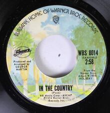 Rock 45 George Martin - In The Country / Tin Man On Warner Bros. Records