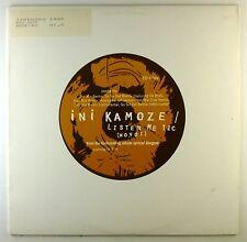 "12"" Maxi - Ini Kamoze - Listen Me Tic (Woyoi) - C2594 - cleaned"