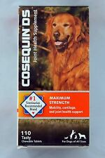 Cosequin DS Joint Supplement Dog Dogs All Sizes 110 Chewable Tablets - exp 2018