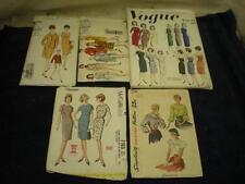 VINTAGE 1960'S PATTERNS LOT OF 5 VOGUE MCCALLS
