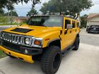 2003 Hummer H2  2003 Hummer H2 SUV Yellow 4WD Automatic