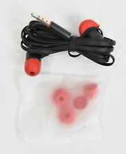 HTC Flat Wired Dual Earbuds Headset 3.5mm Hands Free Earphone w/ Microphone NEW