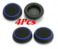 4x Blue Controller Thumb Stick Grip Joystick Cap Cover Analog For PS3 PS4 XBOX