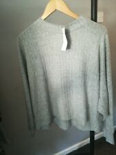 Marks and Spencer Loungwear Grey Mix Jumper Bnwt!! Size 18 RRP £15