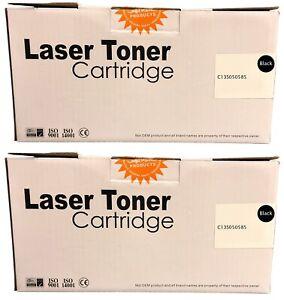 Compatible S050583 Black Twin Toner Cartridges C13S050585 for Epson M2300