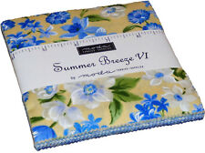 "Summer Breeze VI Moda Charm Pack 42 100% Cotton 5"" Precut Quilt Squares"